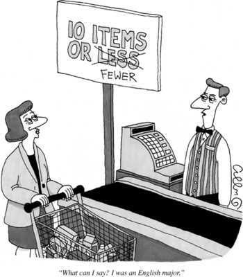 Answer: 10 Items or Fewer