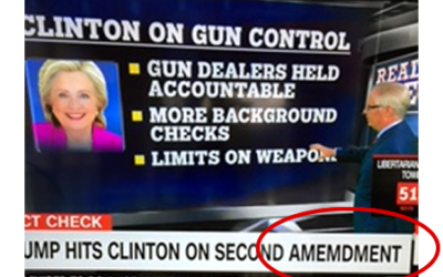 Typo on Gun Control
