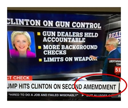 Typo on Gun Control