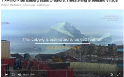 11-Million-Ton Iceberg has Identity Crisis